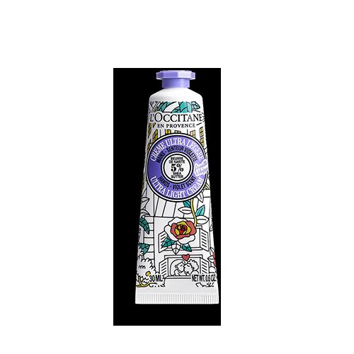 Creme de Mãos Karité Ultra Ligeiro Fouettée Aroma Violeta OMY pour L'OCCITANE 30ml