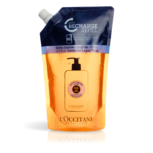 Eco recarga Sabonete Liquido Lavanda 500 ml