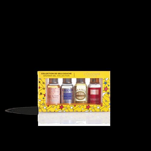 Quatro Géis de Duche Perfumados