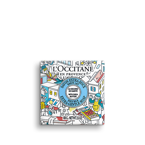 Sabonete Extra-Suave Karité Leite OMY pour L'OCCITANE 100g