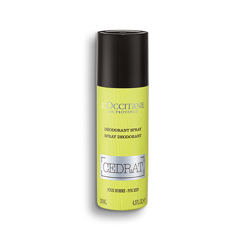 Spray Desodorizante Cédrat 130 ml