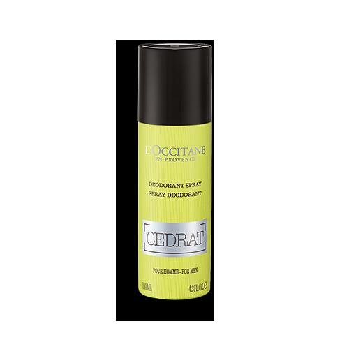 Spray Desodorizante Cédrat 130 ml