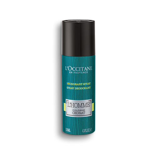 Spray Desodorizante L'Homme Cologne Cédrat 130 ml
