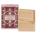 Luxury rose scented French bar soaps from L'Occitane