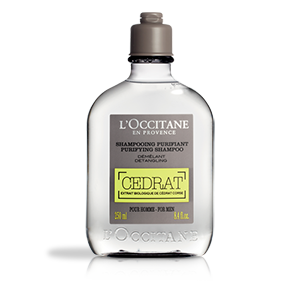 Cédrat Purifying Shampoo,with refreshing active ingredient gives a feeling of freshness to the scalp.