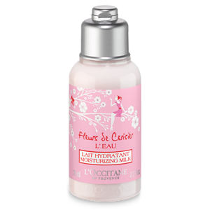 Cherry Blossom L'Eau Moisturizing Milk Travel Size