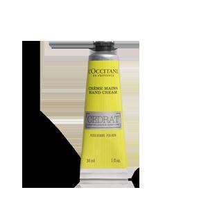 Crema de maini Cedrat, formula speciala pentru barbati, hidrateaza si protejeaza pielea mainilor.