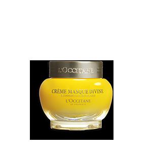 Crema Masca Divine L'Occitane, masca de fata hidratanta cu uleiuri esentiale