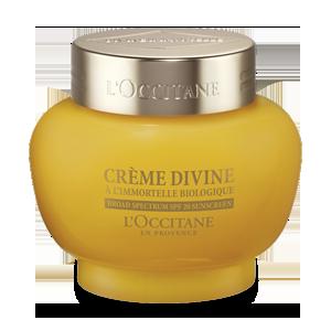 Crema Divine SPF 20,de la L' Occitane.O crema antirid cu protectie solara, care protejeaza tenul zilnic impotriva razelor UV.