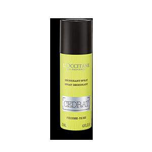 Deodorant Spray Cédrat