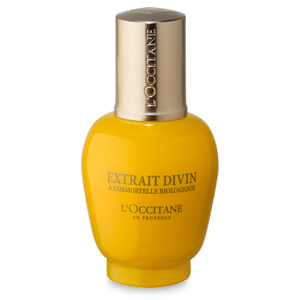 L'Occitane Divine Serum, anti aging face serum for wrinkles with essential oils