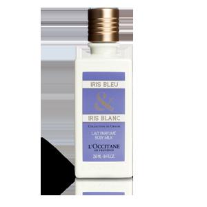 Lapte de Corp Iris Albastru si Iris Alb