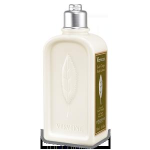 Lotiune de Corp L'Occitane cu Verbina Imbogatit cu ulei de seminte de struguri si Unt de Shea, Laptele de Corp hidrateaza si hraneste pielea