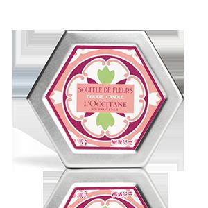 Lumanare Parfumata cu parfum floral frantuzesc, de la L'occitane.