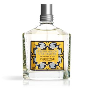 Luxury home perfumes from  L'Occitane