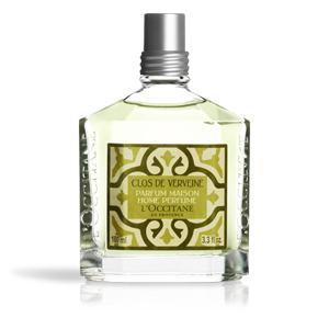Luxury lemon verbena home perfume from L'Occitane