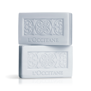 Luxury lavender scented French bar soaps from L'Occitane