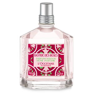 Luxury rose scented home perfume from L'Occitane