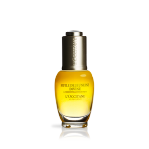 L'Occitane Divine Youth Oil, an anti aging face oil with 100% natural oils