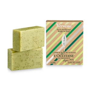 Verbena Rough-Cut Soaps, by L'Occitane.