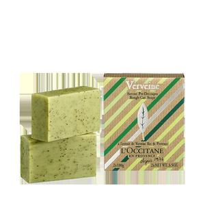 Verbena Rough-Cut Soaps, by L'Occitane.