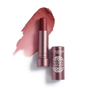 L'Occitane Tinted Lip Beauty Balm, an amber lip balm for nourishing lips