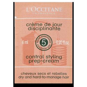 Sample Control Styling Prep Cream