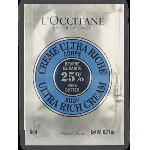 Sample Ultra Rich Body Cream