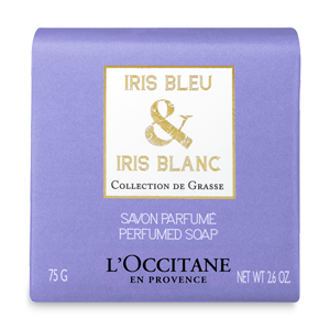 Sapun Iris Albastru si Iris Alb