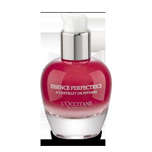 Ser pentru fata cu Bujori, de la L'Occitane.  Are o textura usoara cu parfum delicat de bujori.
