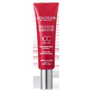 L'Occitane Tinted Medium CC Perfecting Cream, a tinted CC cream with SPF 20 sun protection