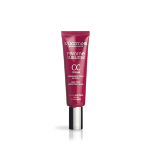 L'Occitane Tinted Medium CC Perfecting Cream, a tinted CC cream with SPF 20 sun protection