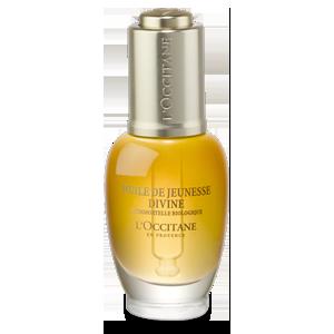 Ulei pentru Fata Divine L'Occitane, ulei de fata antirid cu 100% uleiuri esentiale