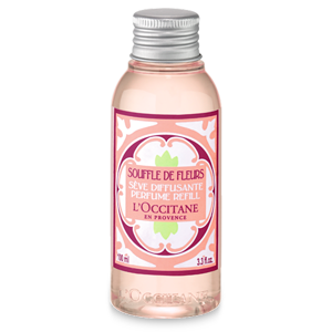 White blossom home perfume diffuser refill from L'Occitane