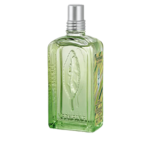 L'Occitane's Verbena Eau de Toilette is a  fragrance filled with lemony freshness
