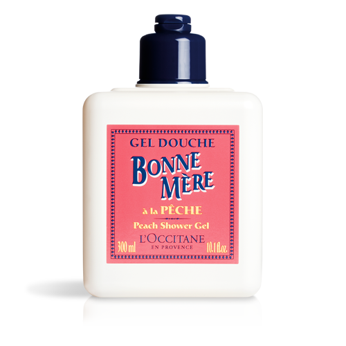 Bonne Mère Peach Shower Gel