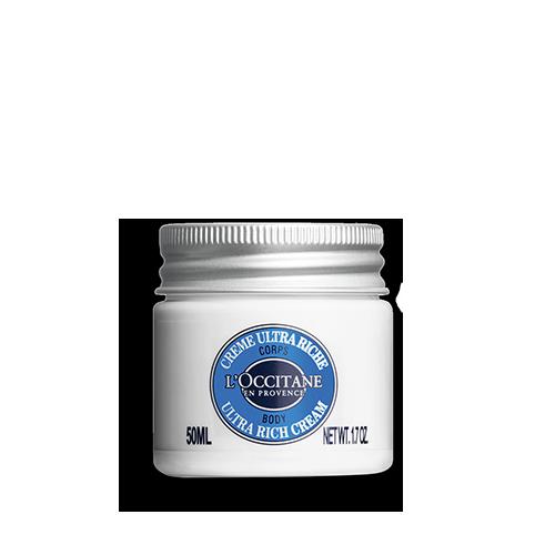 Crema de corp ultra-hranitoare cu Unt de Shea - Speciala pentru calatorii