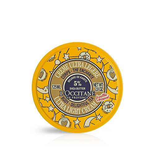 Crema de corp ultra-light cu extract de Shea si Ceai - Editie XMAS 18