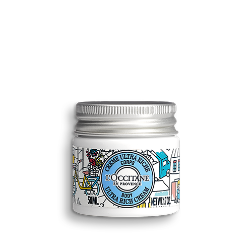 Crema pentru corp ultra-hranitoare Shea Color - Speciala pentru calatorii