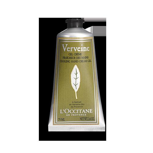 Gel crema racoritor pentru maini cu extract de Verbina