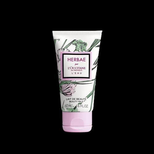 Lapte de corp Herbae L'Eau - Special pentru calatorii