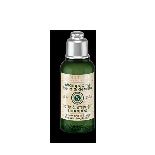 Sampon cu efect fortifiant - Aroma Force - Special pentru calatorii