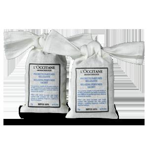 L'Occitane – Натуральные средства для кожи – Расслабляющие ароматизированные саше