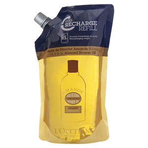 Масло для душа увлажняющее Миндальное (сменный блок)