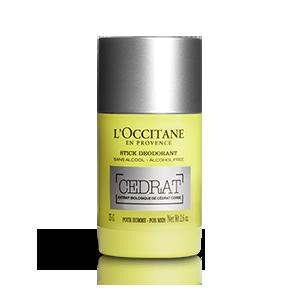 L'Occitane – Натуральные средства для кожи – Мужской дезодорант без алюминия