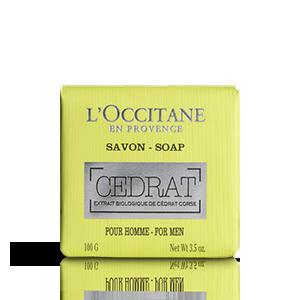 L'Occitane – Натуральные косметические средства – Натуральное мыло для мужчин