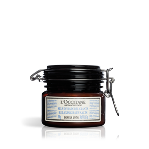 L'Occitane – Натуральные косметические средства – Расслабляющая соль для ванн