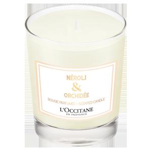 Свеча Нероли и Орхидея