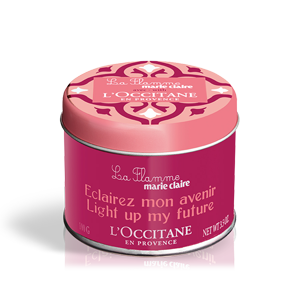Свеча Marie Claire & L'Occtane