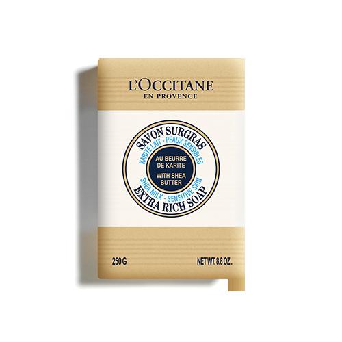 Мыло Молоко-Карите 250 г твёрдое